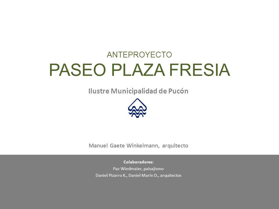UBICACIÓN Superficie intervención aproximada: 9.600 m2 (incluye áreas de prolongación a calles perpendiculares) P.