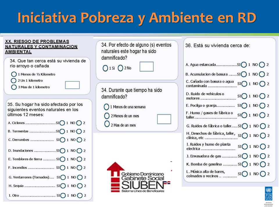 4) Diseño de un Índice de Condiciones Inseguras a nivel de hogar (Índice Multidimensional de Vulnerabilidad) para identificar los factores subyacentes del riesgo que operan y se manifiestan a nivel de los hogares y su entorno inmediato, a nivel de las comunidades RESULTADOS: i)Primera aproximación par la construcción de un Índice de Vulnerabilidad con una propuesta metodológica, identificación de variables y posibles preguntas para obtener la información requerida.
