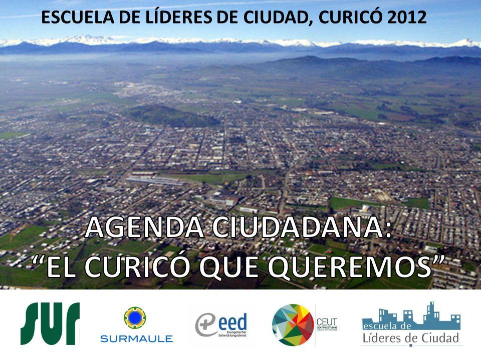 ESCUELA DE LÍDERES DE CIUDAD, CURICÓ 2012