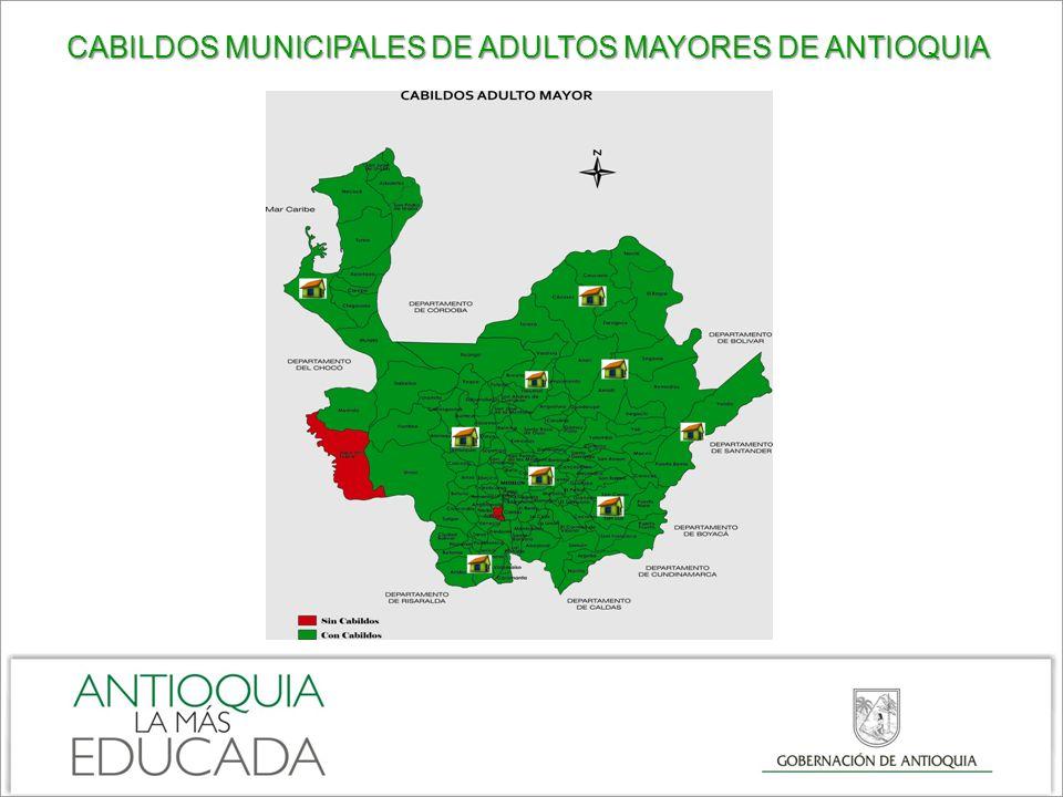 CABILDOS MUNICIPALES DE ADULTOS MAYORES DE ANTIOQUIA