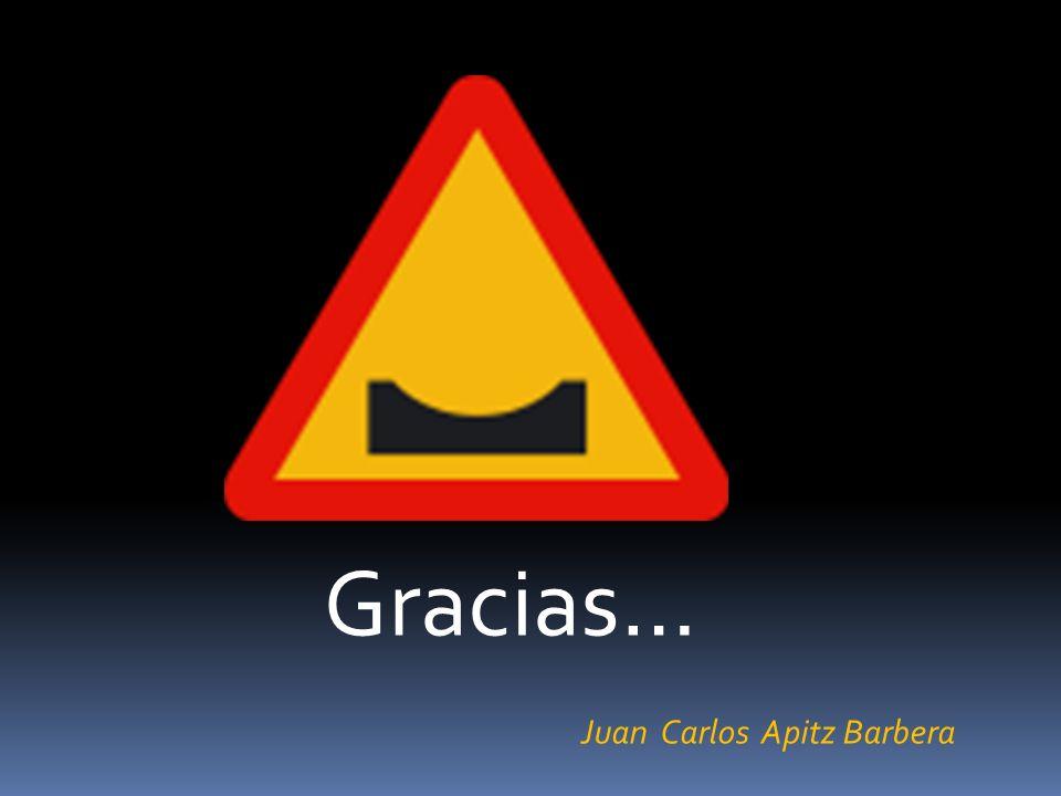 Gracias… Juan Carlos Apitz Barbera