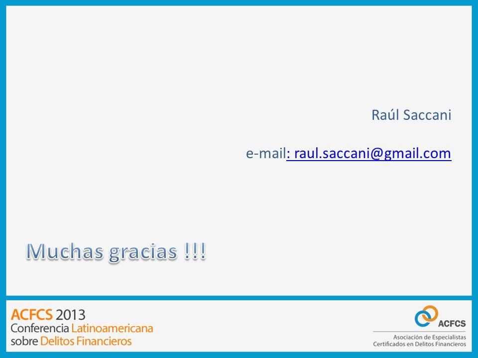 Raúl Saccani e-mail: raul.saccani@gmail.com: raul.saccani@gmail.com