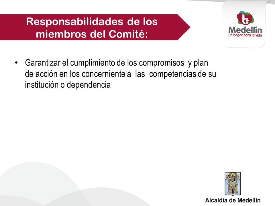 El Comité Territorial de Justicia Transicional sesionara cada cuatro meses.