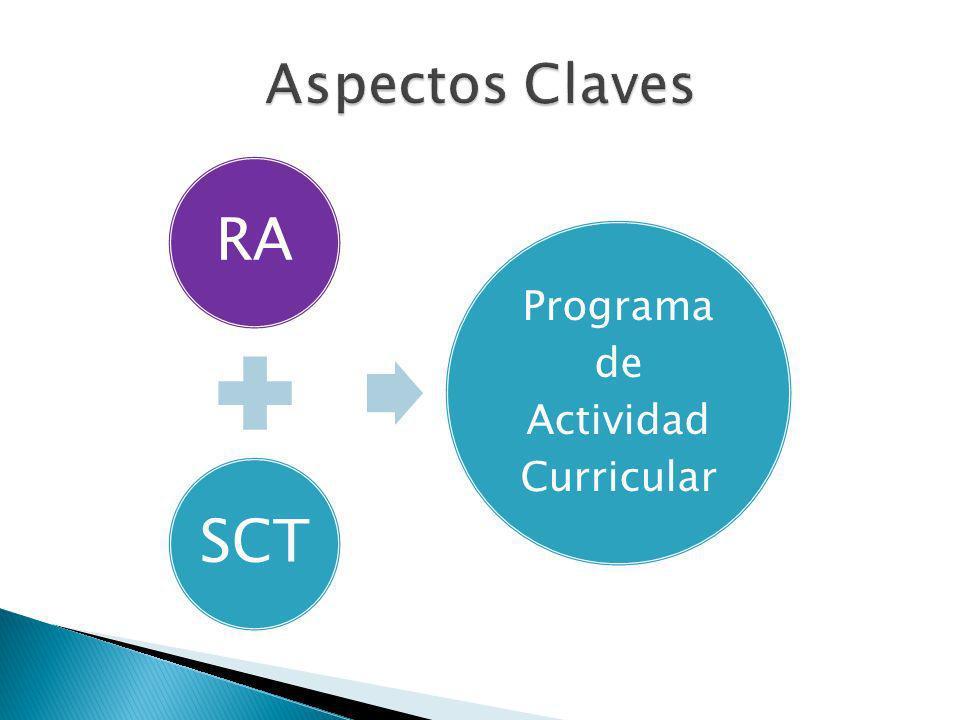 RA SCT Programa de Actividad Curricular