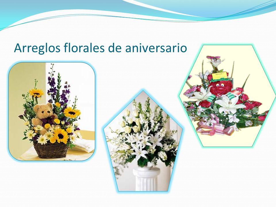 Arreglos florales de aniversario