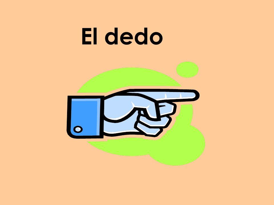El dedo