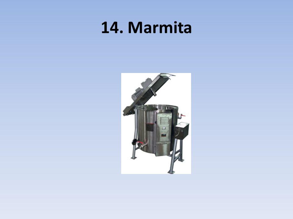 14. Marmita