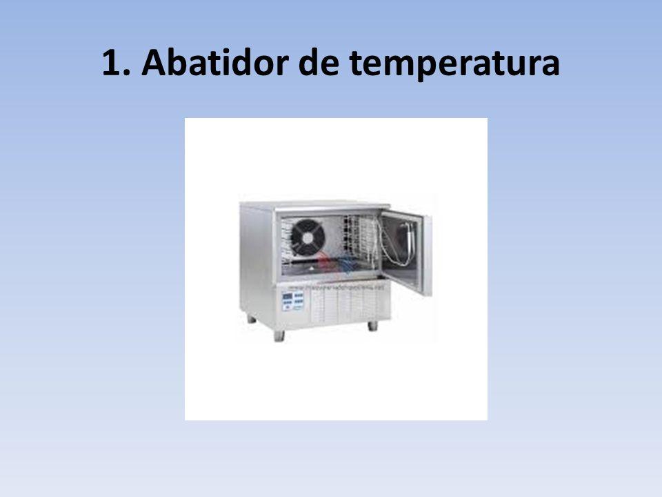 1. Abatidor de temperatura