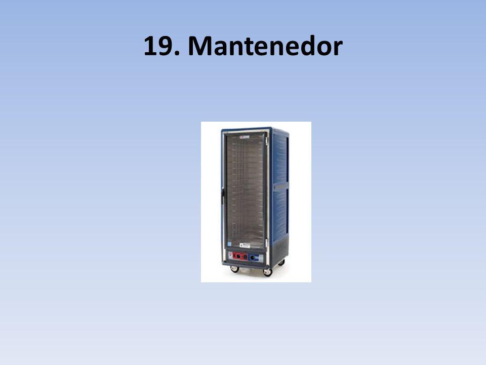 19. Mantenedor