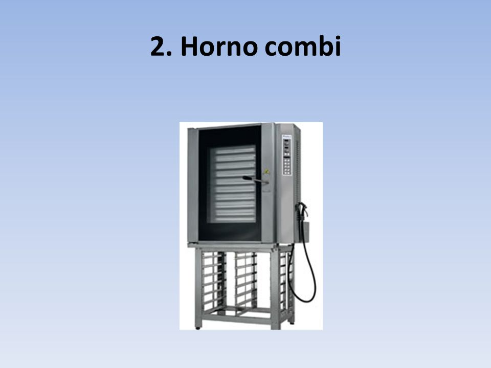 2. Horno combi