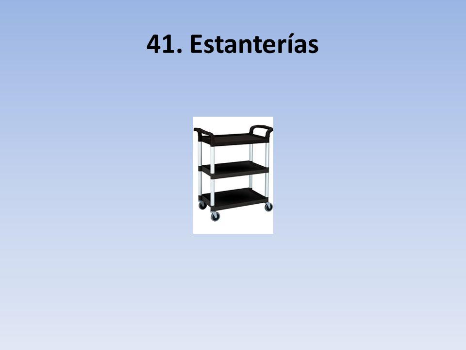 41. Estanterías
