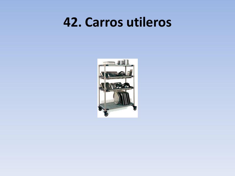 42. Carros utileros