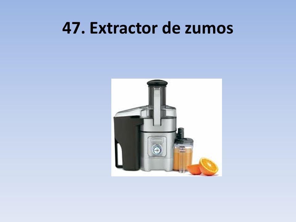 47. Extractor de zumos