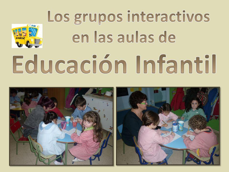 En Educación Infantil… Los grupos son igual de eficaces que en los demás cursos.