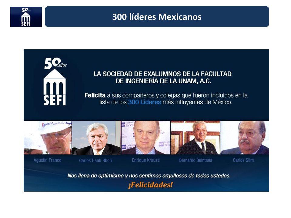 300 líderes Mexicanos