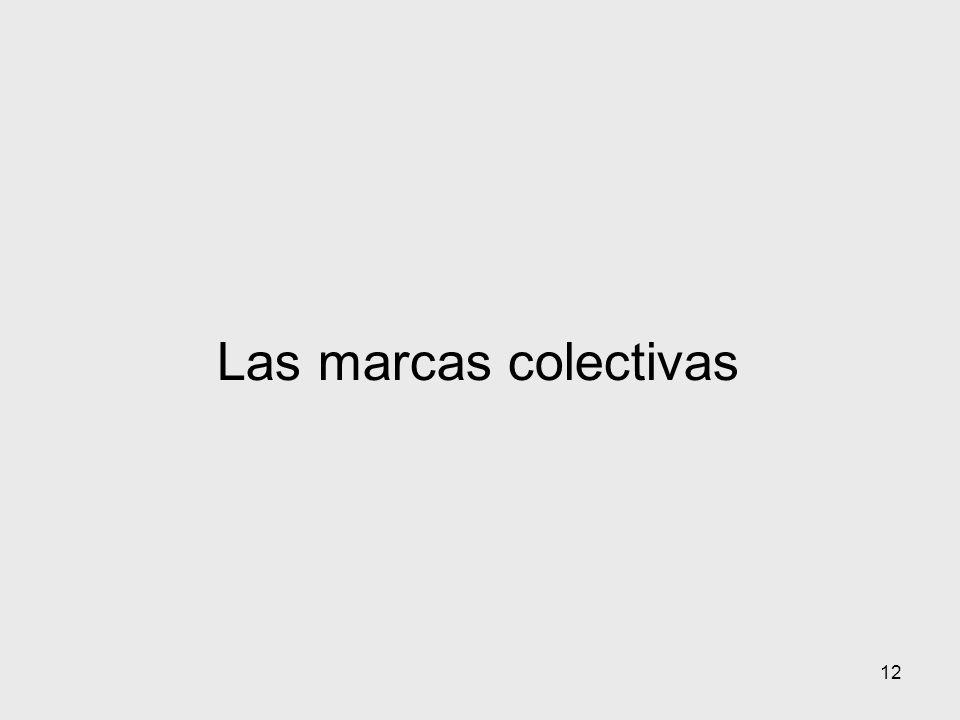 12 Las marcas colectivas