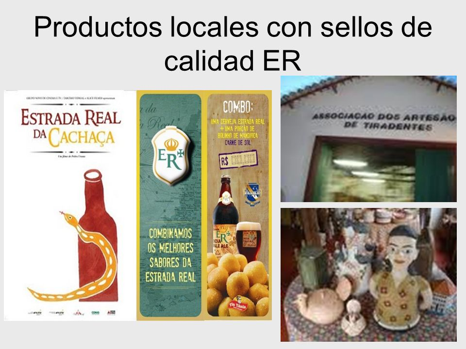 Productos locales con sellos de calidad ER