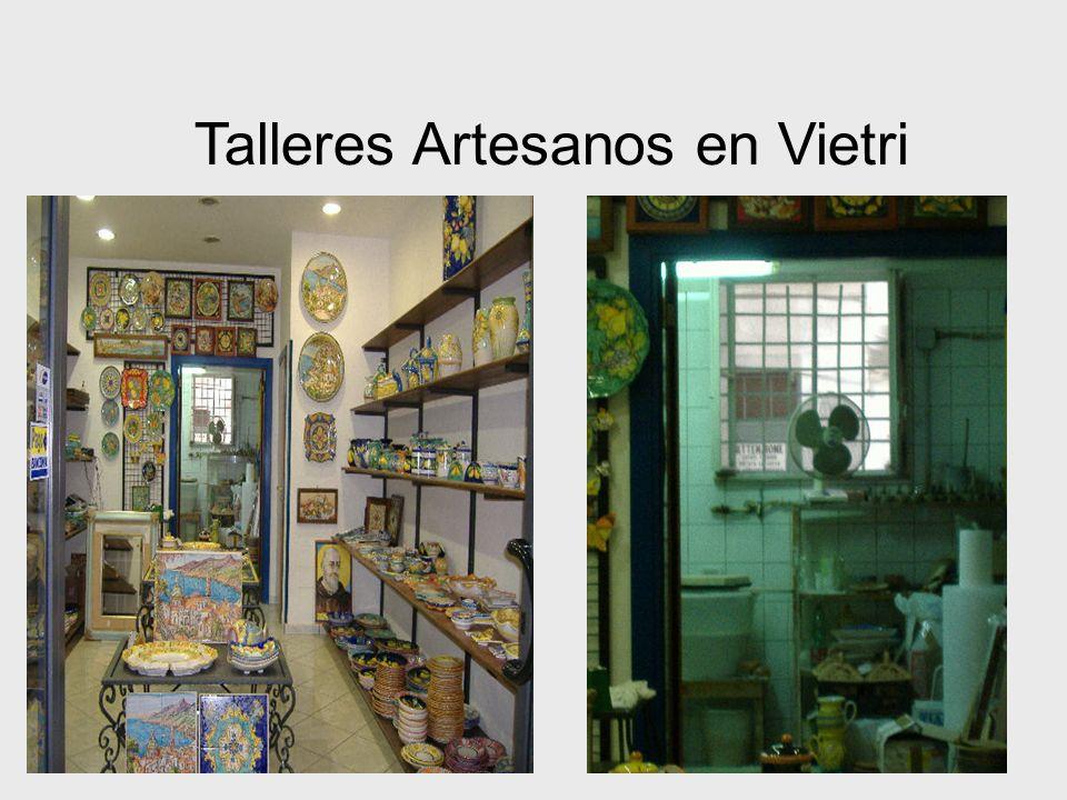 27 Talleres Artesanos en Vietri