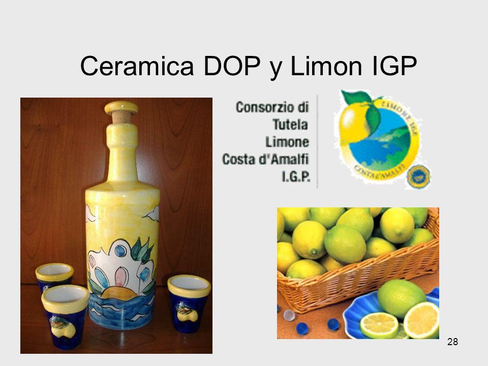 28 Ceramica DOP y Limon IGP