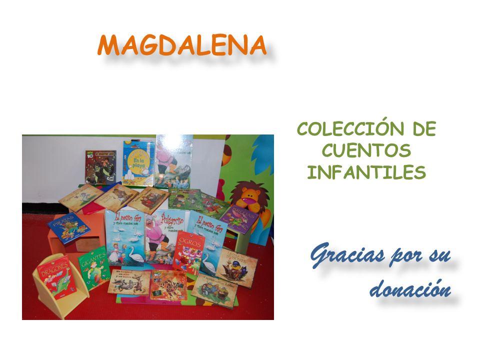 Gracias por su donación CALDAS DONACIÓN EN DINERO POR $1.500.000 PARA COMPRA DE PAÑALES Y SÁBANAS