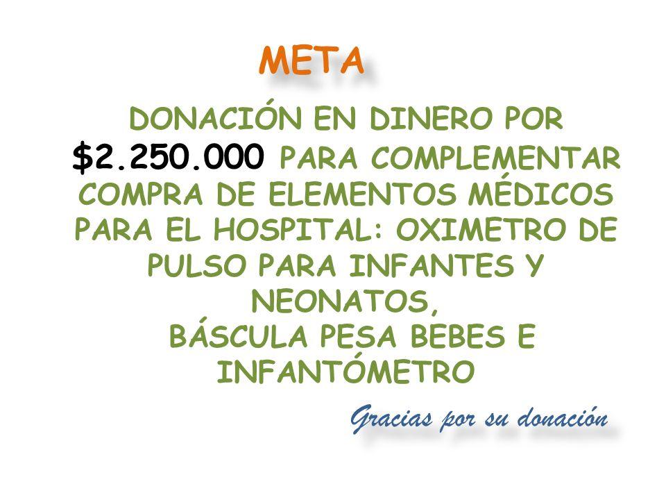 Gracias por SU DONACIÓN CESAR ELEMENTOS PARA MANUALIDADES