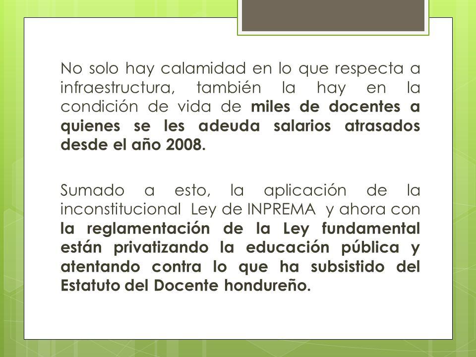 RECARTE: 4/08/2013 NO NOS PODEMOS QUEDAR CALLADOS ANTE LA PRETENCIÓN DE ELIMINAR ESE INSTRUMENTO JURIDICO QUE COSTO DOS DECADAS DE LUCHA Y SANGRE LLAMADO ESTATUTO DEL DOCENTE HONDUREÑO