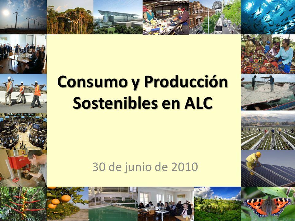 11 Consumo y Producción Sostenibles en ALC 30 de junio de 2010