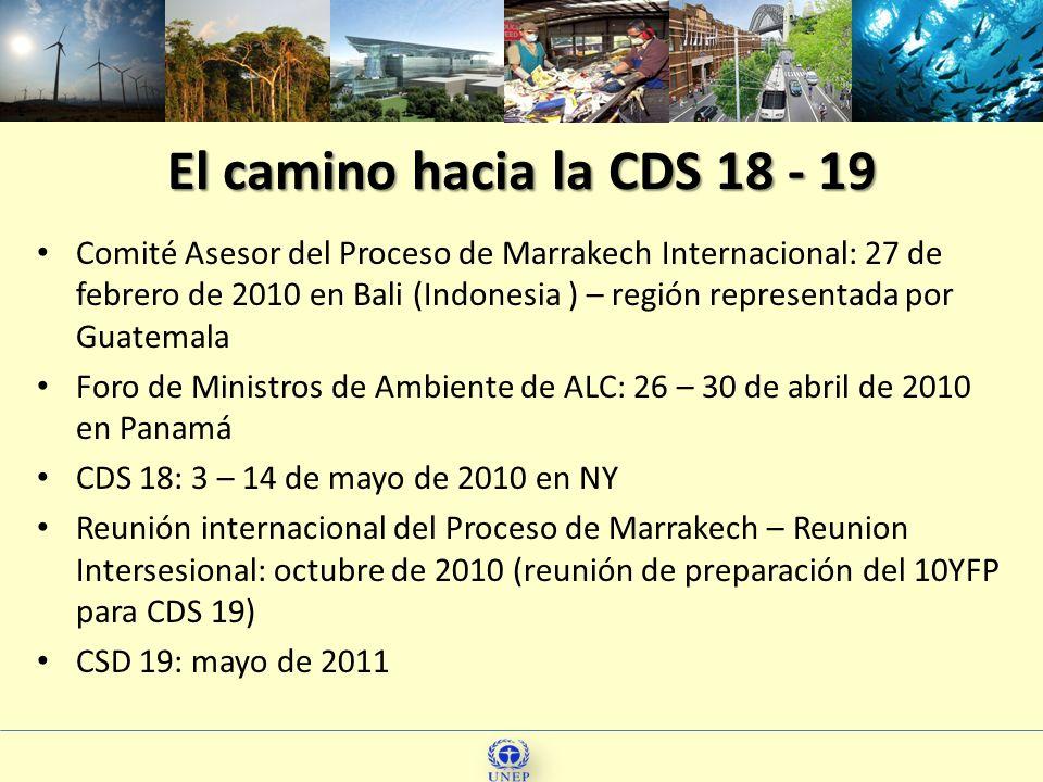 Comité Asesor del Proceso de Marrakech Internacional: 27 de febrero de 2010 en Bali (Indonesia ) – región representada por Guatemala Foro de Ministros