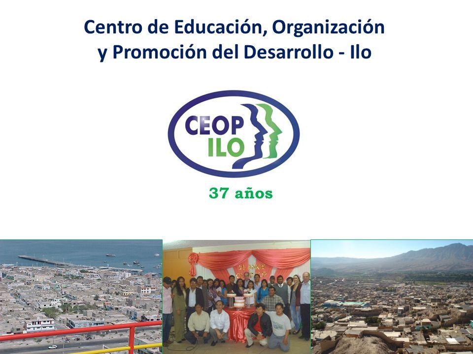Centro de Educación, Organización y Promoción del Desarrollo - Ilo 37 años