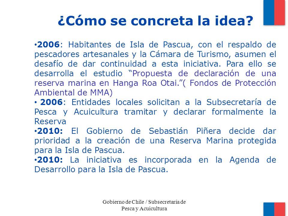 2006: Habitantes de Isla de Pascua, con el respaldo de pescadores artesanales y la Cámara de Turismo, asumen el desafío de dar continuidad a esta iniciativa.