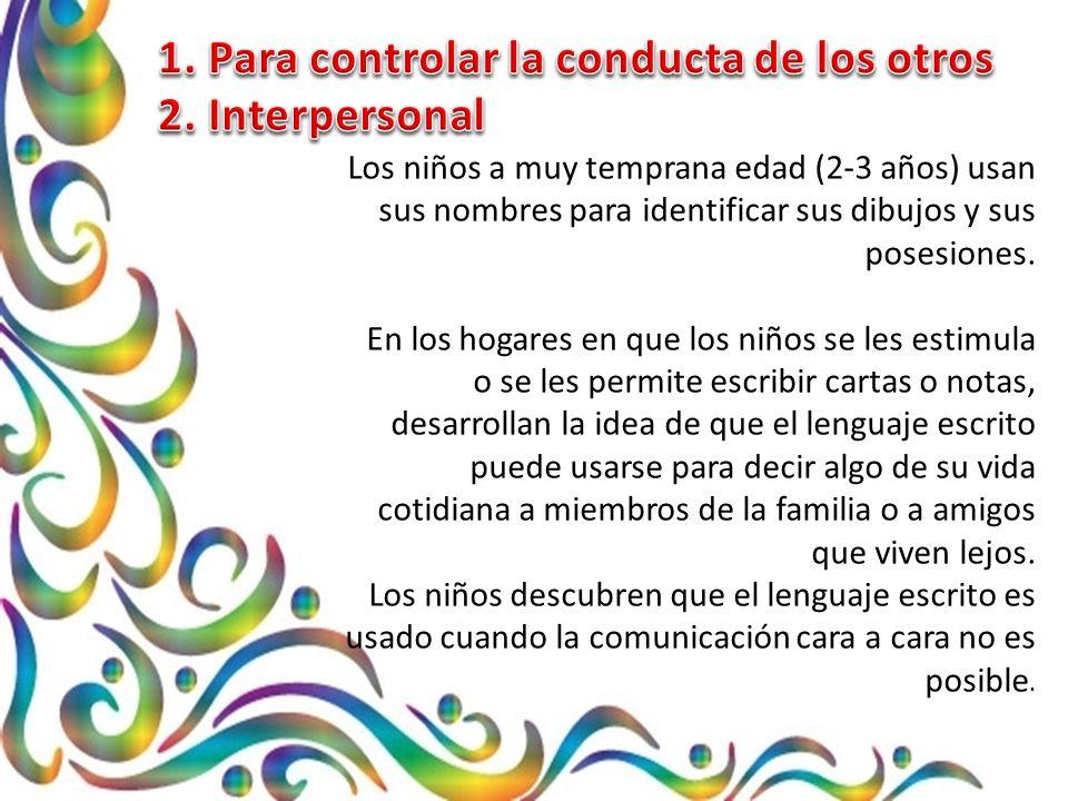 Los niños desarrollan sus principios sobre la lengua escrita y también deben desarrollar la noción de que en algunos contextos algunos principios son más significativos que otros.