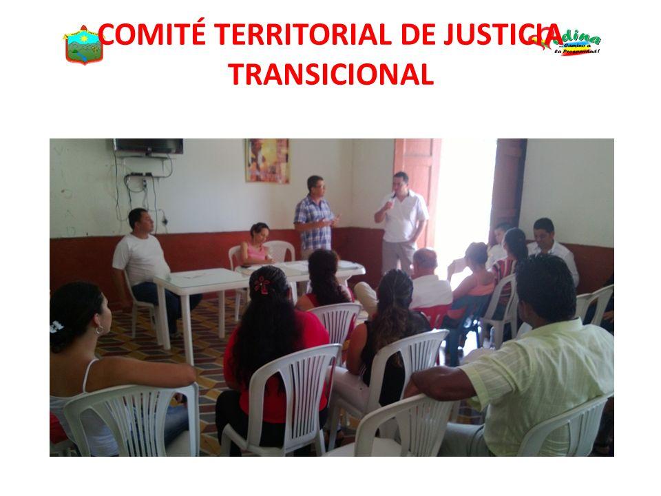 COMITÉ TERRITORIAL DE JUSTICIA TRANSICIONAL