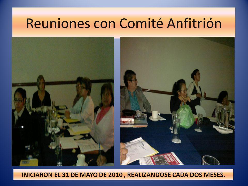 Reuniones con Comité Anfitrión MAJESTUOSO AUDITORIO SIGLO XXI M LO MÁS DIFICIL DE CONSEGUIR ¡LO LOGRAMOS!