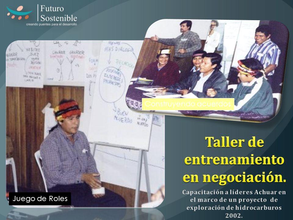 Juego de Roles Construyendo acuerdos
