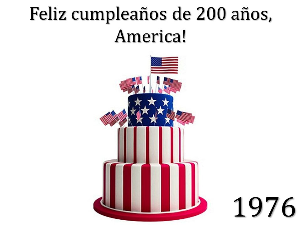 Feliz cumpleaños de 200 años, America! 1976