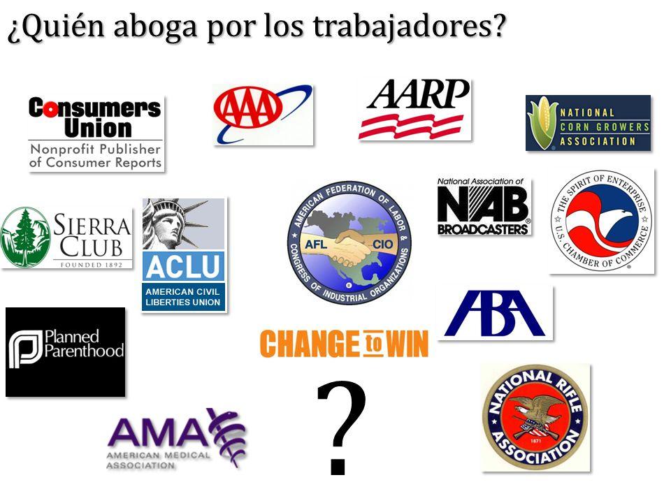 ? ¿Quién aboga por los trabajadores?