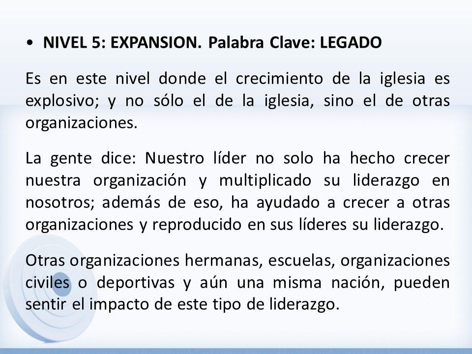 NIVEL 5: EXPANSION.