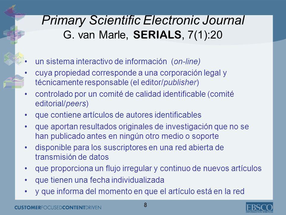 9 Crecimiento de la comunidad científica 1975-2000: investigadores X 2 1980-2000: publicaciones X 2 1970-2000: presupuestos bibliotecas X 0,4% Cambio del modelo académico