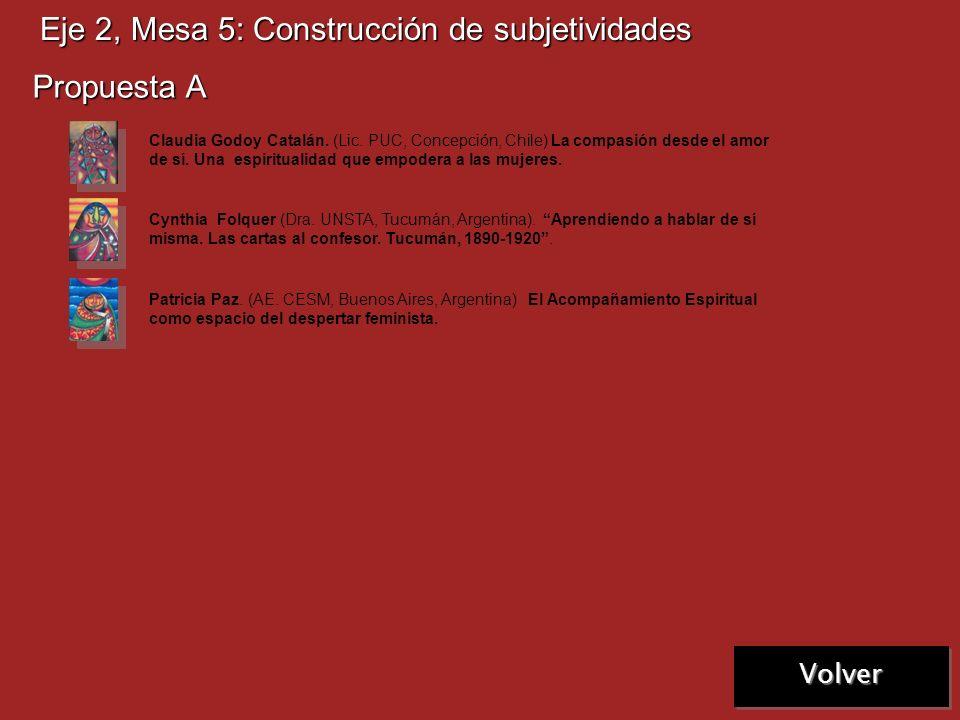 Eje 2, Mesa 4: Hermenéutica feminista Propuesta A Graciela Dibo. (Lic. UCA, Haedo, Argentina) Mujeres sin espejos y hermenéutica feminista de la Bibli