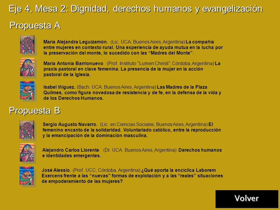 Eje 4, Mesa 1: Poder, violencia y empoderamiento de mujeres Propuesta A Propuesta B Mónica C. Ukaski. (Prof. UCA, Buenos Aires, Argentina) Violencia c