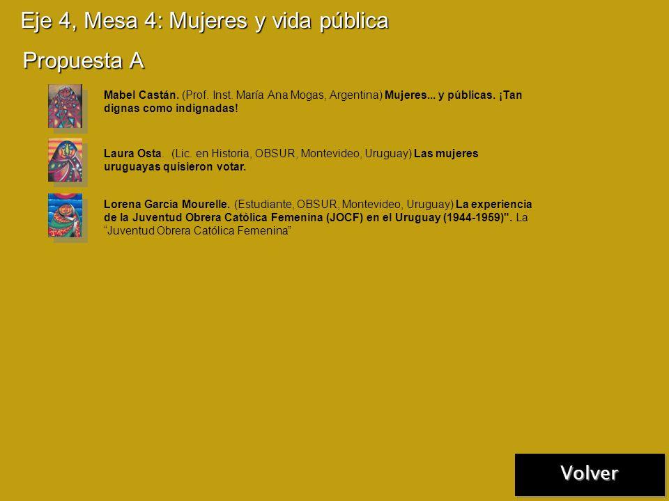Eje 4, Mesa 3: Compromiso e intervención social Propuesta A Gustavo Carrara (Bach. UCA, Buenos Aires, Argentina) - Sergio Serrese (Bach. UCA, Buenos A