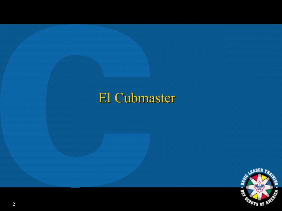 2 El Cubmaster