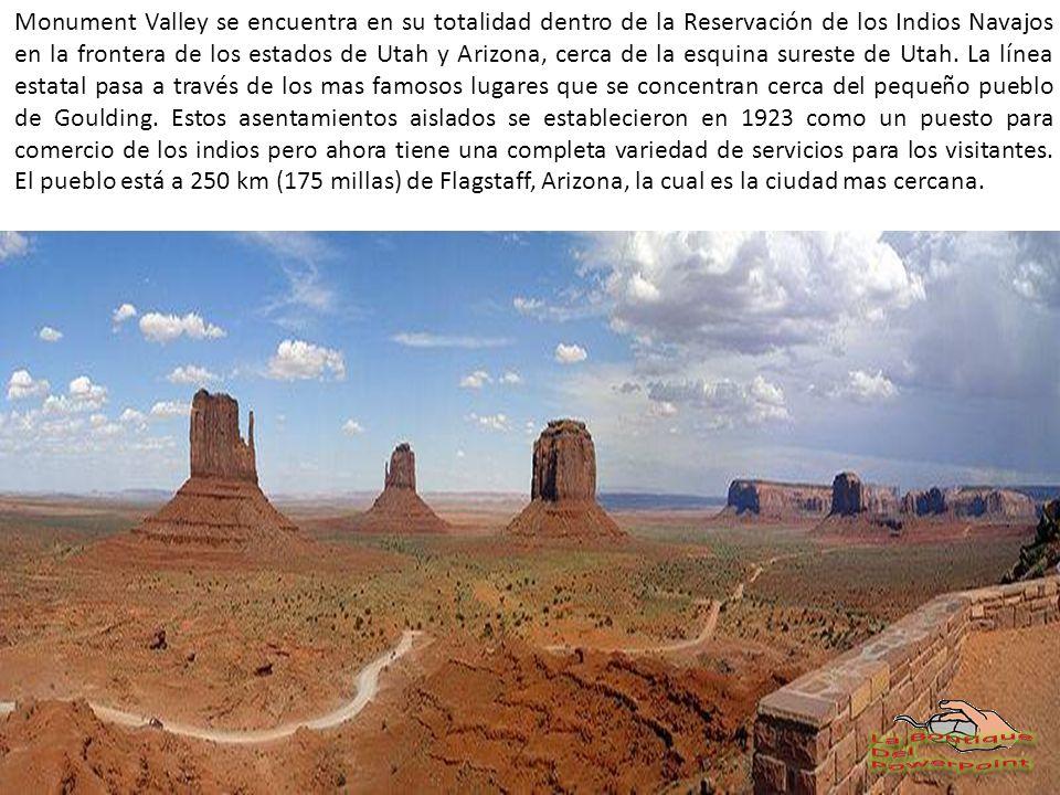 En Monument Valley posiblemente encontramos las imágenes mas inolvidables del Oeste Americano.
