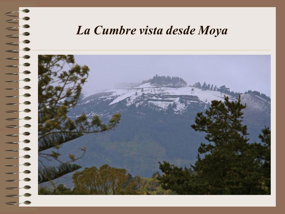 Nuestro maravillo Roque Nublo nevado