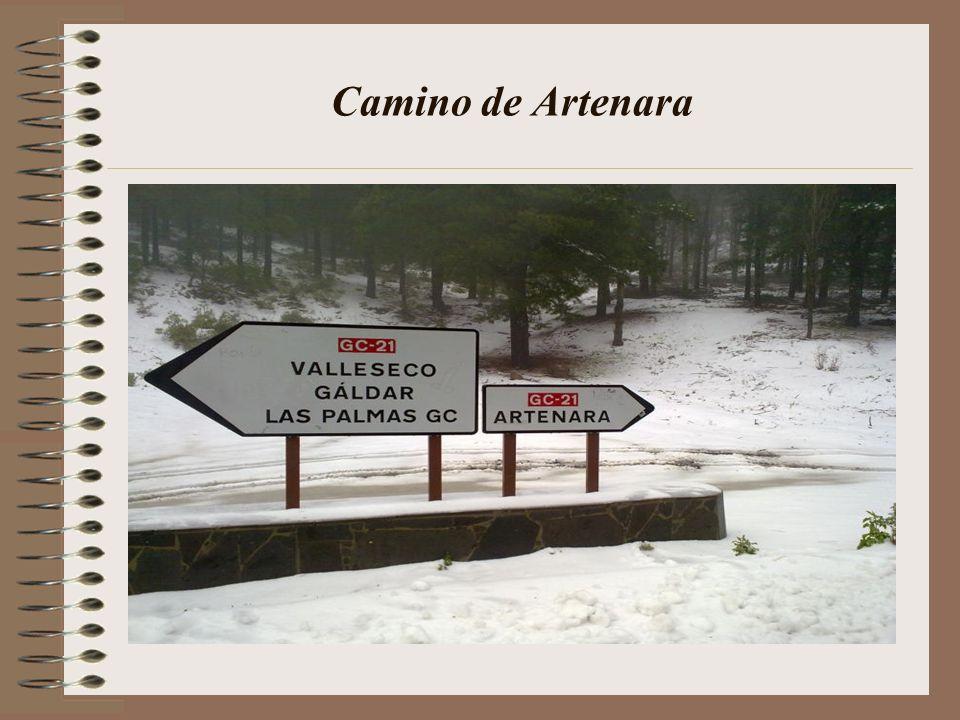 La cumbre vista desde Tenteniguada