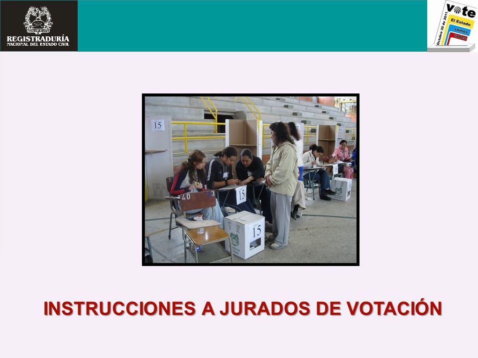 DILIGENCIAMIENTO DEL ACTA DE ESCRUTINIO DEL JURADO DE VOTACION (E-14) IMPORTANTE Una vez diligenciados los dos (2) cuerpos del ACTA E-14 deben ser firmado por TODOS los jurados.