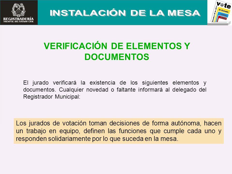 SE ENTREGA AL FUNCIONARIO ELECTORAL LOS SIGUENTES SOBRES Antes de las 11:00 P.M.