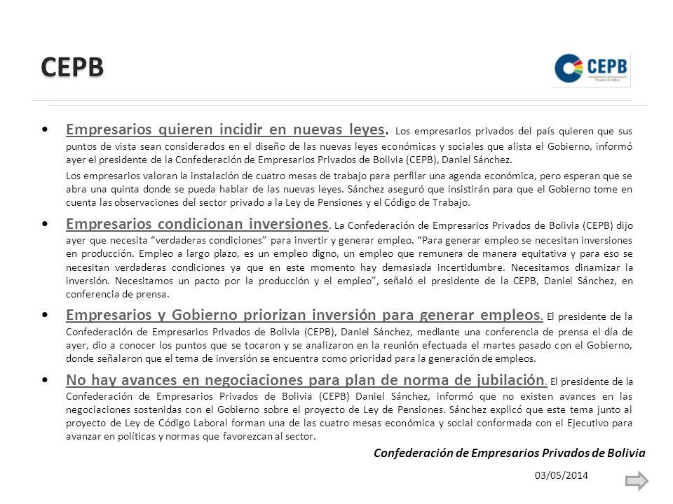 CEPB Empresarios quieren incidir en nuevas leyes.