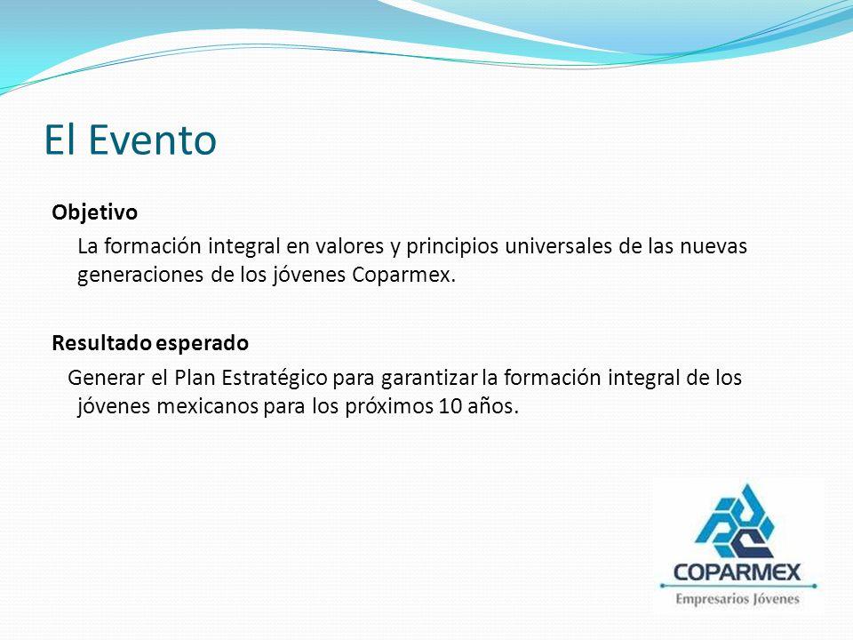 MÉXICO - NOVIEMBRE 2010 EL EVENTO EMPRESARIAL PARA JÓVENES MÁS GRANDE E IMPORTANTE DE MÉXICO Más de 2 mil Jóvenes de todo el país.