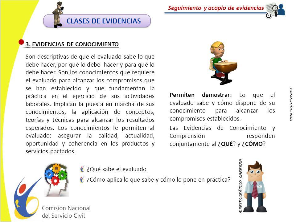 DIVULGACIÓN Y PRENSA Seguimiento y acopio de evidencias EJEMPLO DE PORTAFOLIO DE EVIDENCIAS